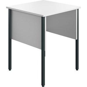 Slater Rectangular Home Office Desk (white), 60wx60dx73h (cm) Ecmhd6060wh