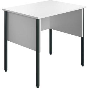 Slater Rectangular Home Office Desk (white), 80wx60dx73h (cm) Ecmhd8060wh
