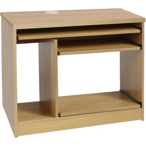 Small Office Computer Workstation (classic Oak) B Cws Co