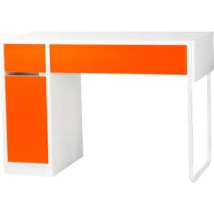 Spector Home Office Orange Workstation, Orange, Free Standard Delivery H4mp3b Nd