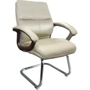 Telford Visitor Chair, Cream Bcp/t401/cm Nd, Cream
