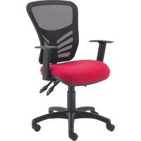 Tille Premium Mesh Back Operator Chair, Black/forward Sk(2) Cse14, Black/Forward