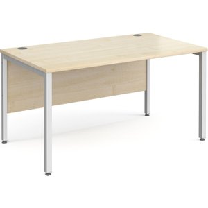 Tully Bench Rectangular Desk 140wx80dx73h (cm), Free Next Day Delivery NH148SMX