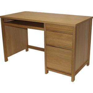 Ubago Workstation, Oak, Free Standard Delivery Aw7510a, Oak