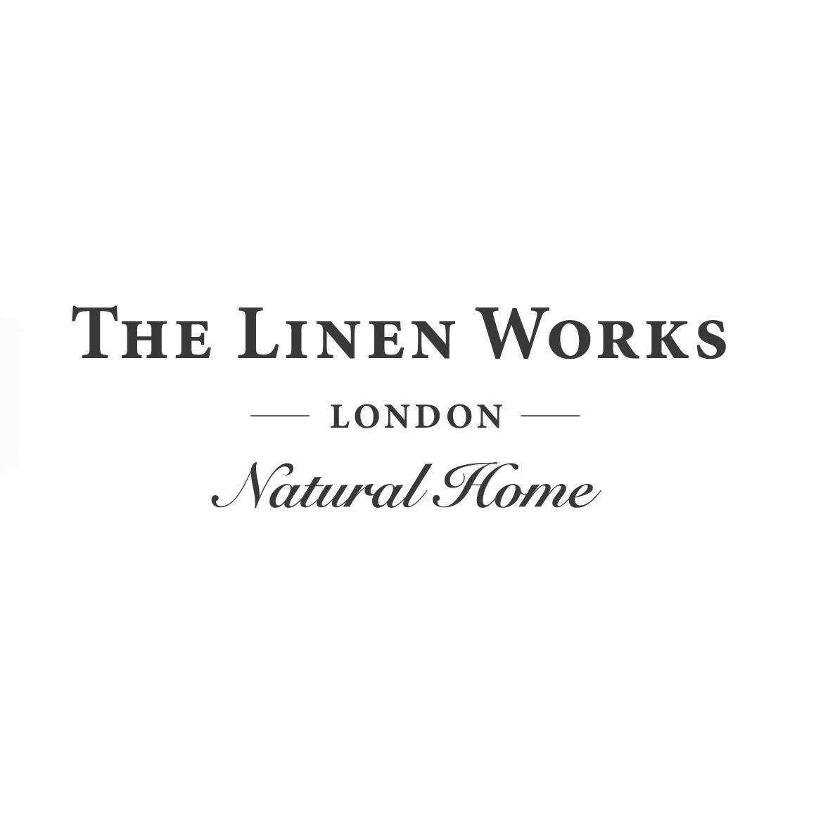 Image Label: Logo   Seller Name: The Linen Works   Location: United Kingdom   Greater London   London   Summary: A timeless collection of pure European linen homewares, with each piece designed as much for its beauty as its practicality. We invest in artisan European craftmanship, to bring the quality of linen into every day living.