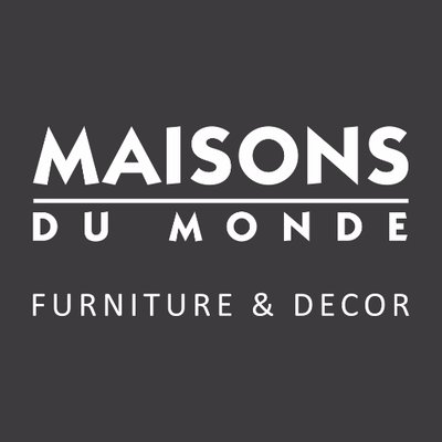 Image Label: Logo | Seller Name: Maisons du Monde | Location: France | Loire-Atlantique | Vertou | Summary: Maisons du Monde is an exciting, innovative homeware brand offering a huge selection of exclusive furniture & décor in a multitude of styles.