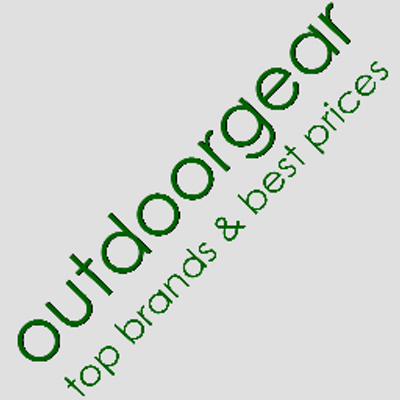 Image Label: Logo | Seller Name: OutdoorGear UK | Location: United Kingdom | Dorset | Bournemouth | Summary: OutdoorGear UK is an online store that offers exceptional service and a fantastic selection of high quality camping equipment, outdoor kit and clothing for all ages at highly competitive prices.
