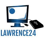 Lawrence24 logo